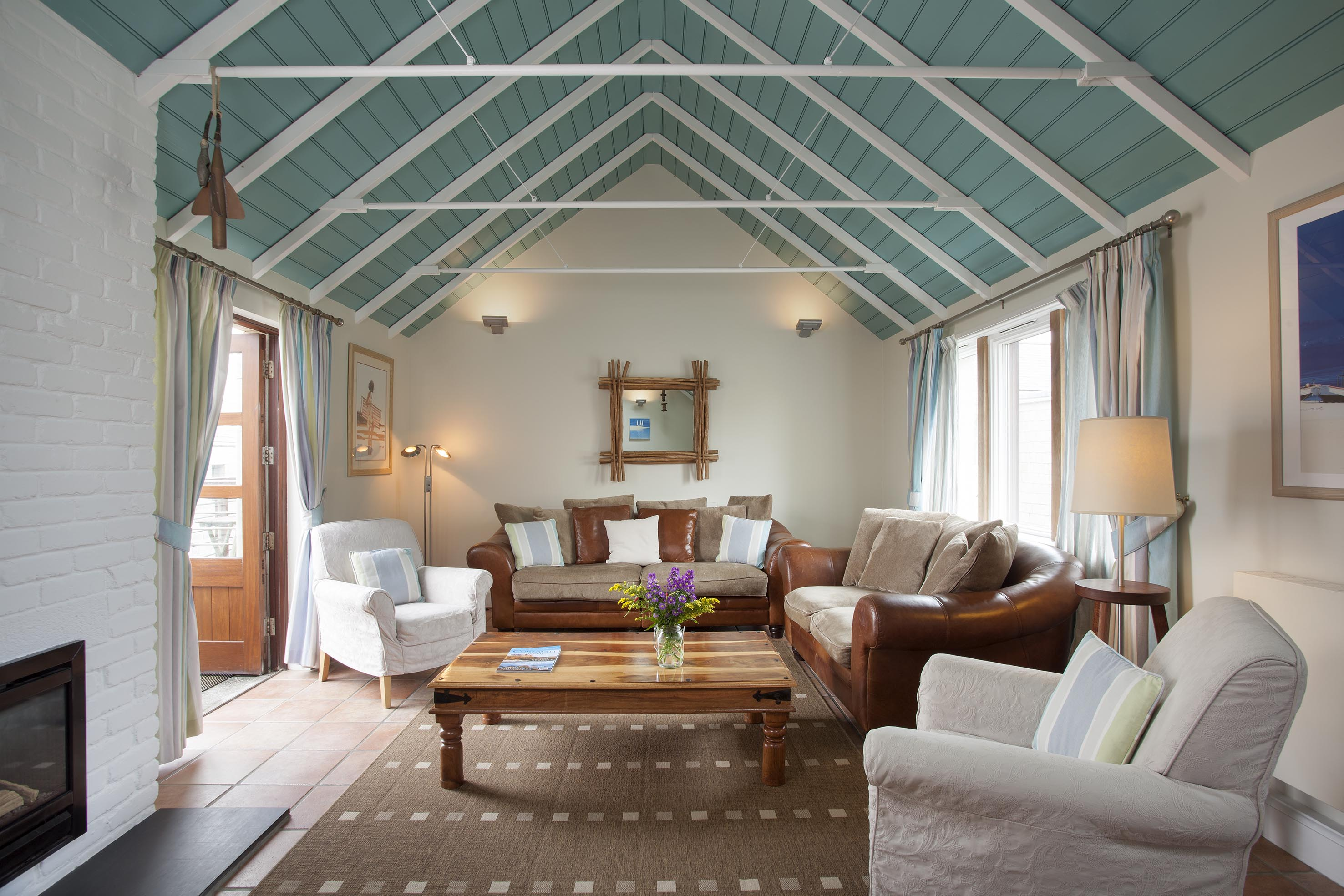 Interior shot of a holiday cottage