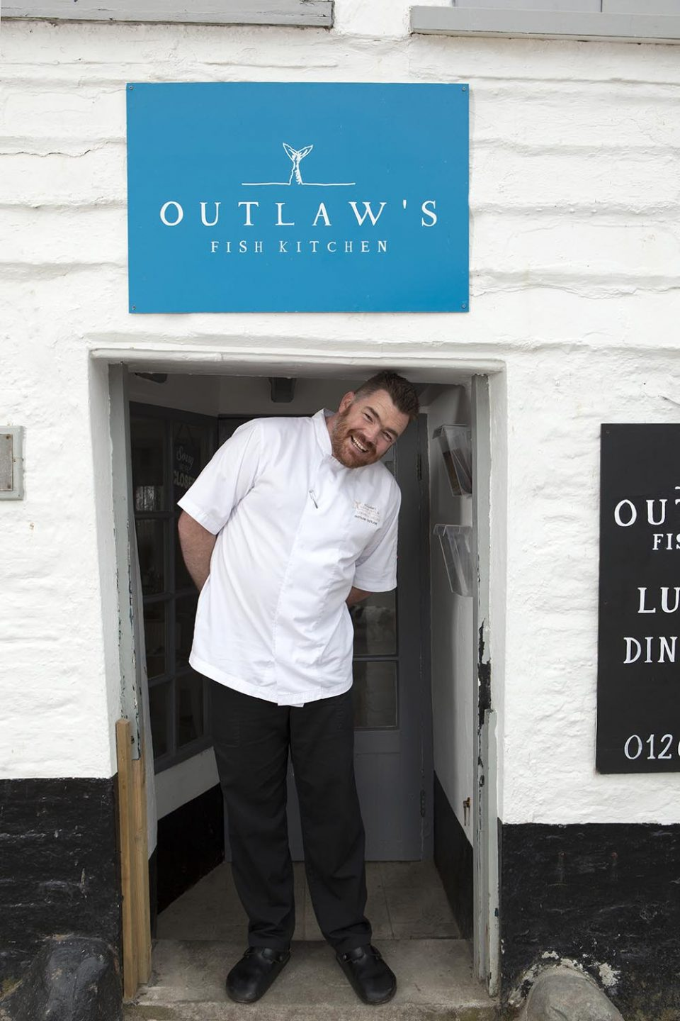 Portrait of Outlaw's Kitchen's Nathan
