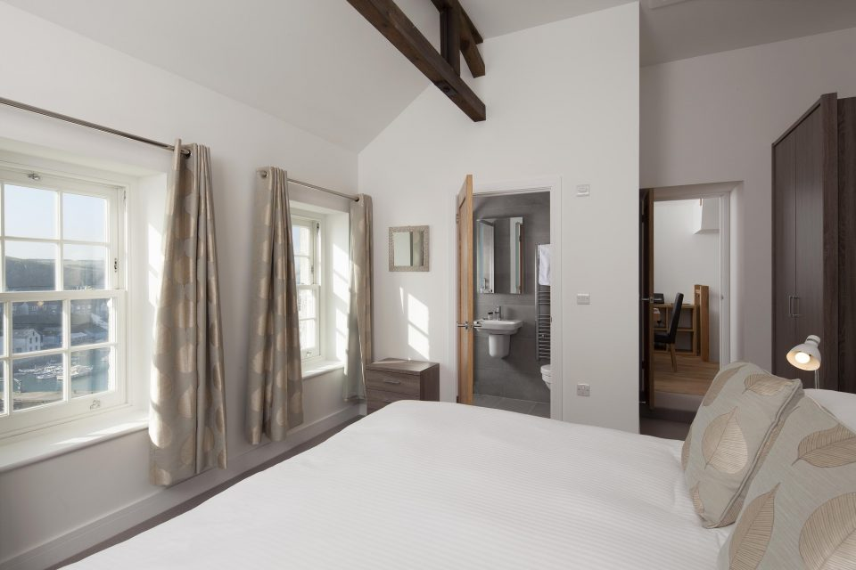 Shot of bedroom and en-suite